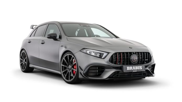 Brabus B45 hops up the Mercedes-AMG A45 S wagon