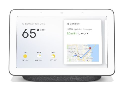 The next Google Nest Hub is tipped to keep the current design