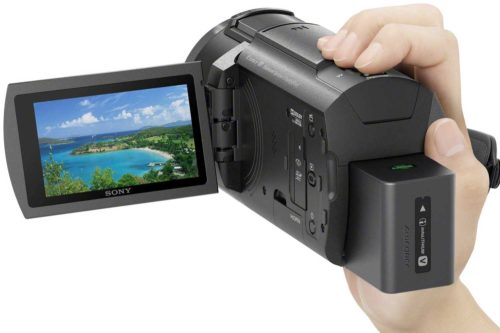 Sony FDR-AX43 Handycam with Exmor R CMOS sensor Unboxing, First Impressions, Camera Samples