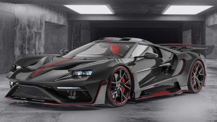 Mansory has a built a second Le Mansory Ford GT, this time in black