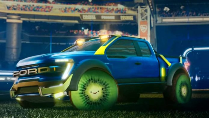 Rocket League is about to get a special Ford F-150 RLE bundle
