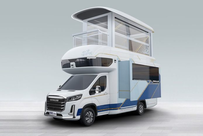 SAIC Maxus V90 Villa Edition Adds Second Story to the Classic RV