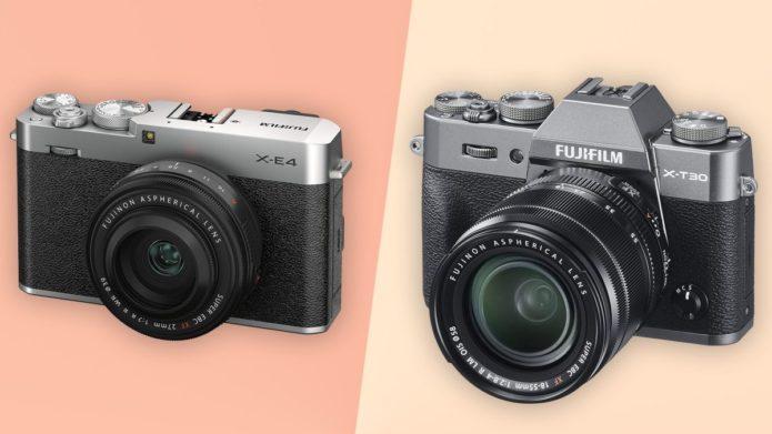 Fujifilm X-E4 vs Fujifilm X-T30: which beginner mirrorless camera should you buy?