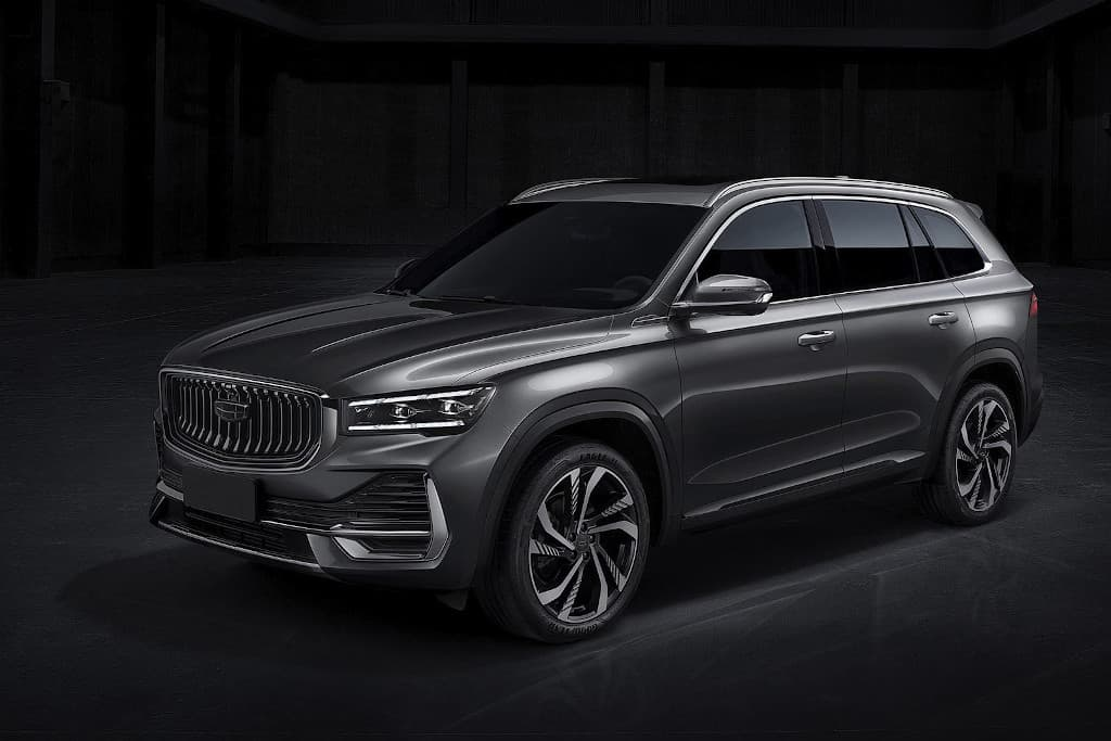 New Geely KX11 SUV revealed