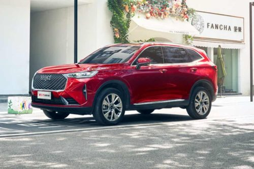 New Haval H6 on the starting blocks