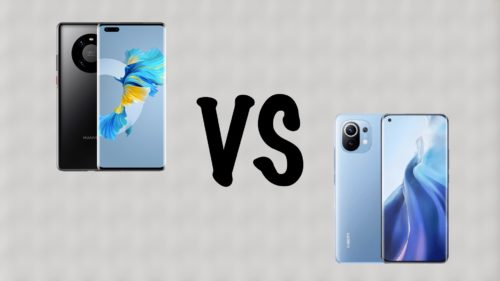 Premium Flagship Comparo: Xiaomi Mi 11 VS Huawei Mate 40 Pro
