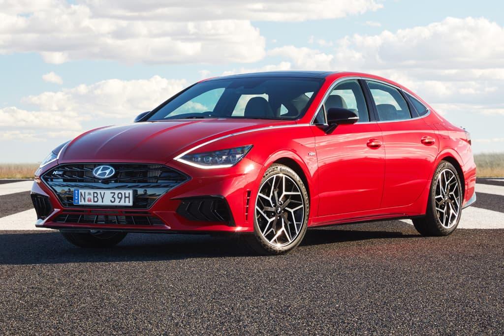 Hyundai Sonata N Line turbo pricing and specs