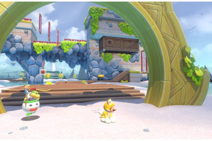Bowser's Fury: Where to find every cat shine in Scamper Shores