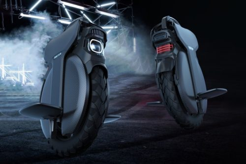 InMotion V11 Gives The Electric Unicycle A Suspension System For Off-Road Riding