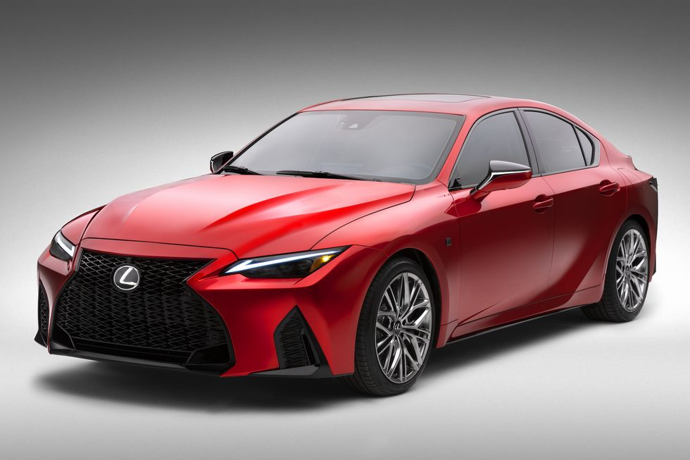The New Lexus IS 500 Could Be the Last Small V8-Powered Sport Sedan