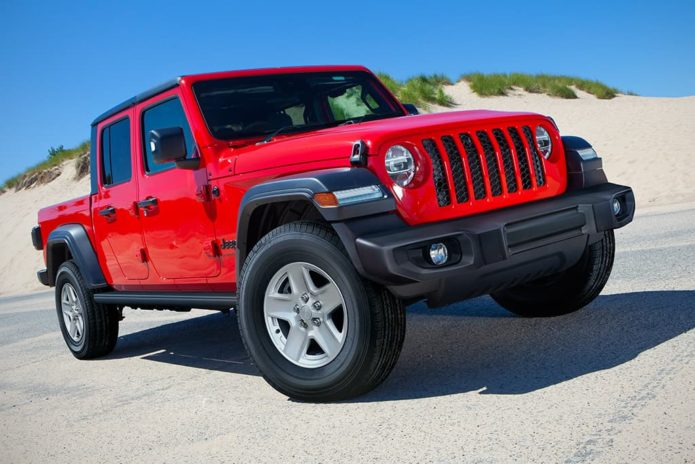 Cheaper Jeep Gladiator arrives
