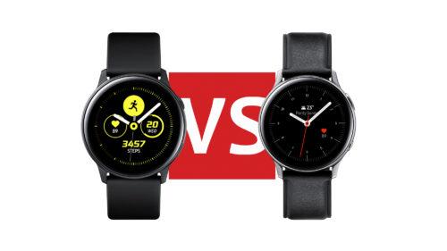 Samsung Galaxy Watch Active 2 vs. Watch Active: Spec comparison
