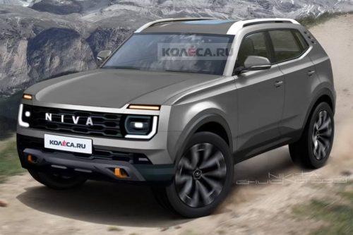 New Lada Niva takes shape