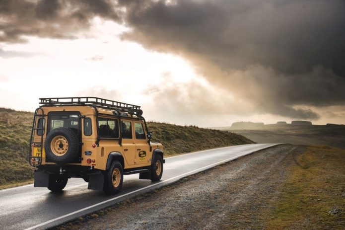 Land Rover Launches Rough, Ready, Retro Defender V8 Trophy Edition