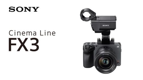 Sony FX3 is officially its smallest, cheapest cinema camera for pro filmmakers