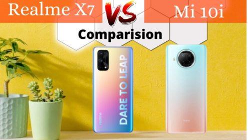 Realme X7 vs Xiaomi Mi 10i: benchmarks and gaming comparison