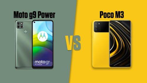 POCO M3 vs Moto G9 Power: price in India, specifications, and design compared