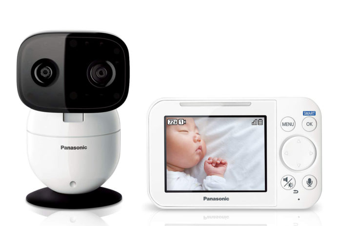 Panasonic video baby monitor (model KX-HN4101W) review: This system has everything new parents need