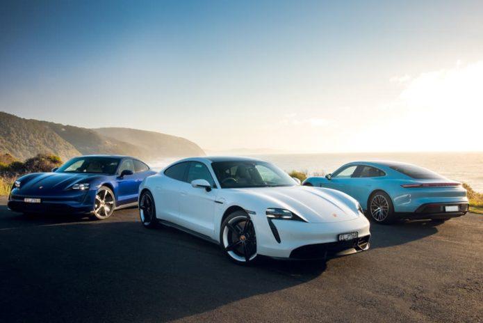 Porsche Taycan spearheads 2021 model rollout