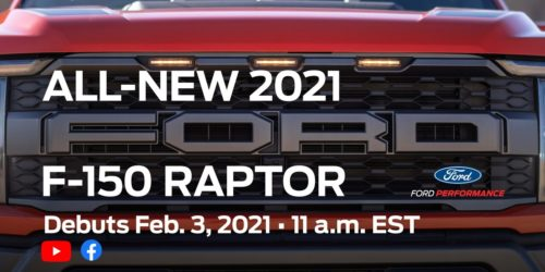 2021 Ford F-150 Raptor – Here's what to expect