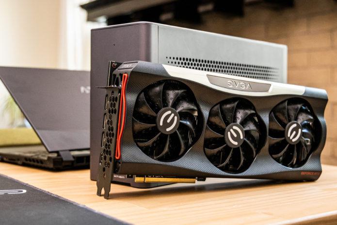How does an RTX 3080 perform inside an eGPU?