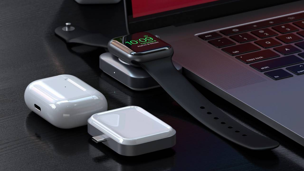 Satechi 2-in-1 USB-C wireless charger supports AirPods and Apple Watch