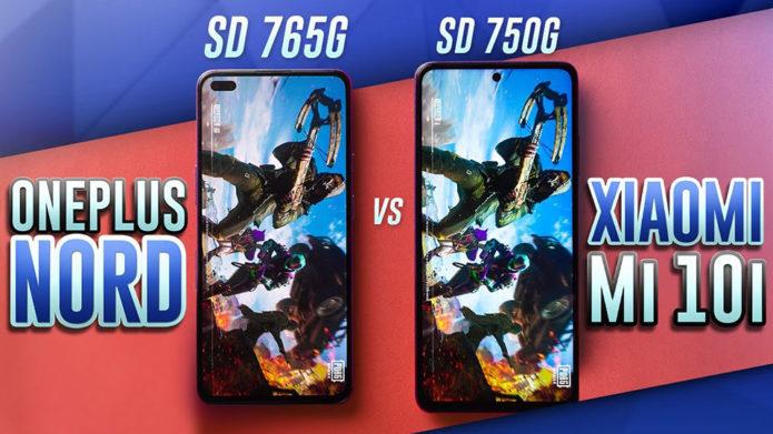 Xiaomi Mi 10i vs OnePlus Nord