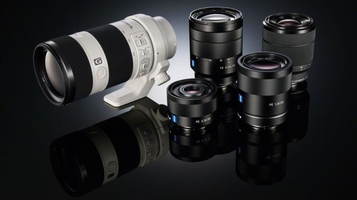 Sony Lens Abbreviations and Meanings