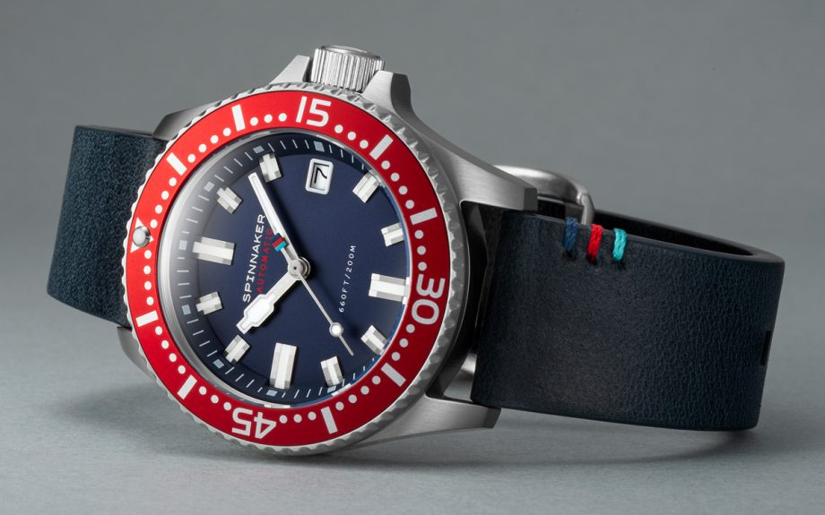 Spinnaker teams up with Help for Heroes for limited edition watch