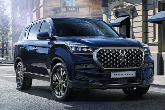 SsangYong Rexton powers up