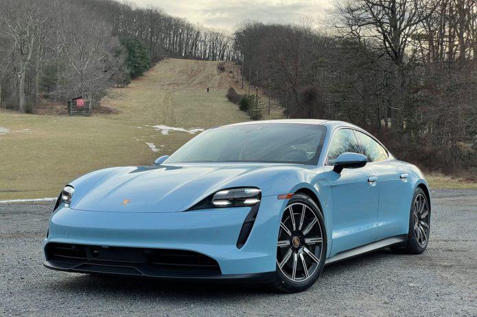 The Porsche Taycan 4S Hits the Sports Car Sweet Spot