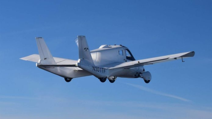 Terrafugia Transition flying car granted a Light-Sport Airworthiness certificate by the FAA
