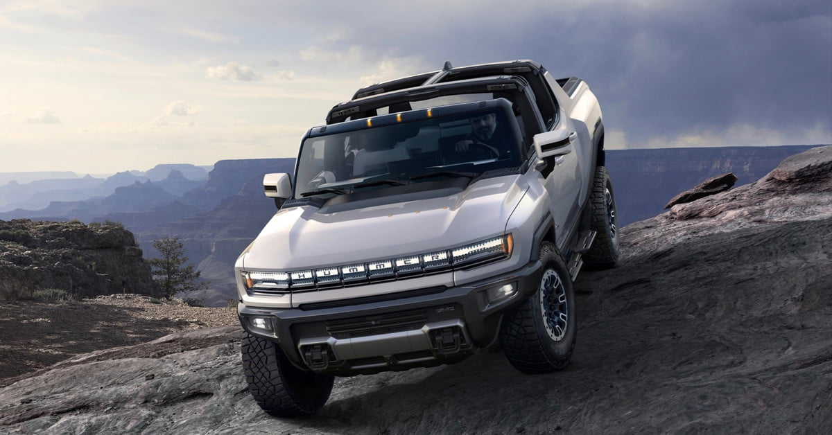 GMC Hummer EV vs. Ford F-150 Electric
