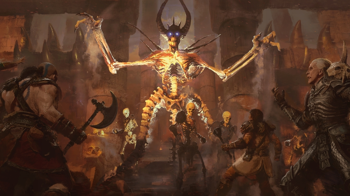Diablo 2 Resurrected is a 4K/144Hz remaster of Diablo 2 for PC and consoles