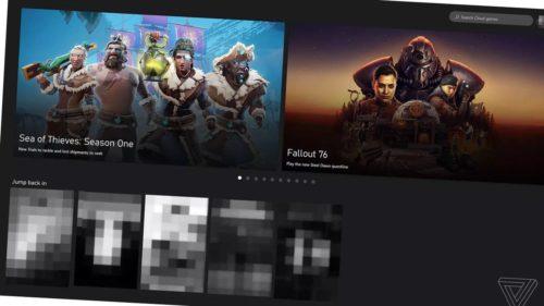 Microsoft xCloud web browser game streaming near public beta