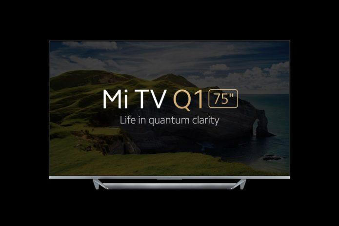 """Xiaomi Mi TV Q1 75"""" announced"""