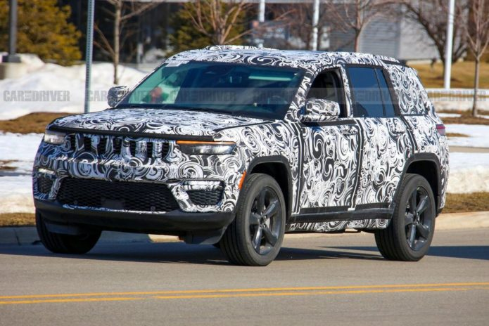2022 Jeep Grand Cherokee Spied Showing Imposing New Look