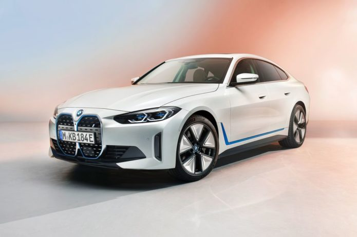 BMW Just Pulled the Covers Off Their New Tesla-Fighting Sport Sedan