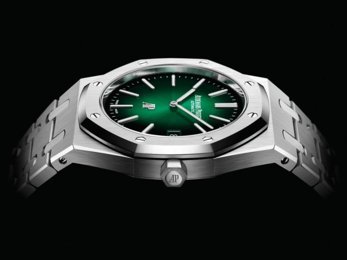 Our Favorite Luxury Sports Watch Has Gone Green (and Platinum)