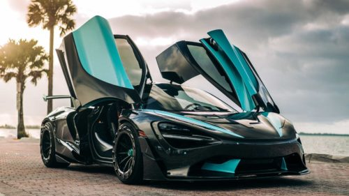 McLaren 720S Gets Stunning Gulf Livery Painted By Hand In 20 Days