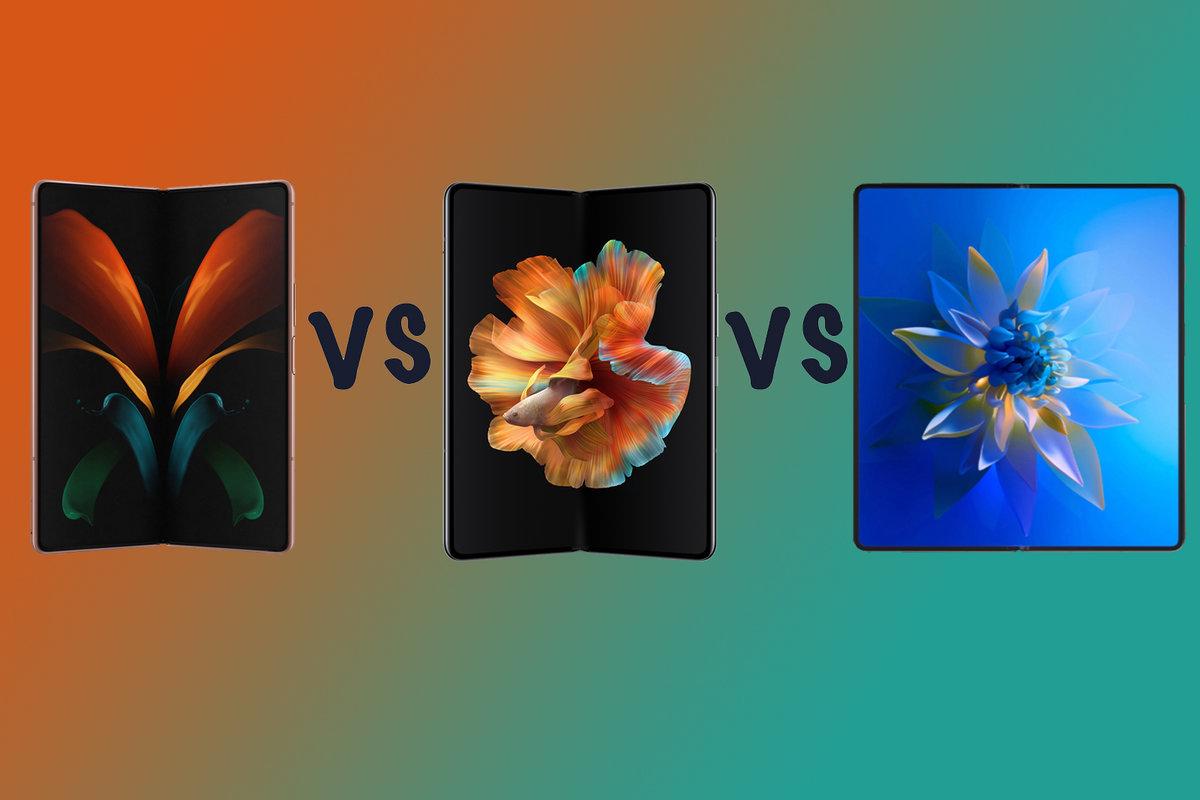 Samsung Galaxy Z Fold 2 vs Xiaomi Mi Mix Fold vs Huawei Mate X2: What's the difference?