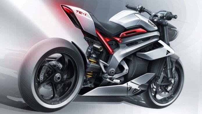 Triumph TE1 electric sport bike prototype has the genes of a Formula E racer
