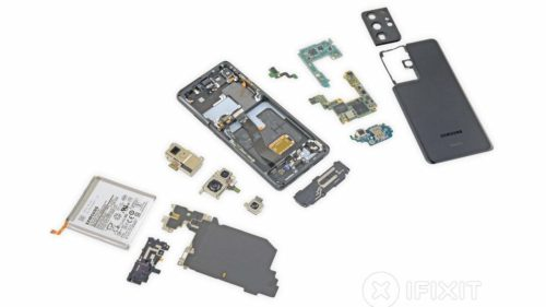 Galaxy S21 Ultra iFixit teardown reveals refinement and disappointment