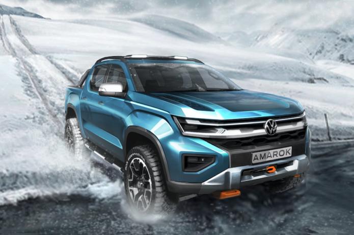 2022 VW Amarok Pickup Details Now More Clear; U.S. Prospects Still Dim