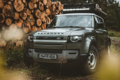 This Roof Rack Is a Must-Have Accessory for the Land Rover Defender