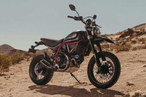 2021 Ducati Scrambler Desert Sled Fasthouse First Look