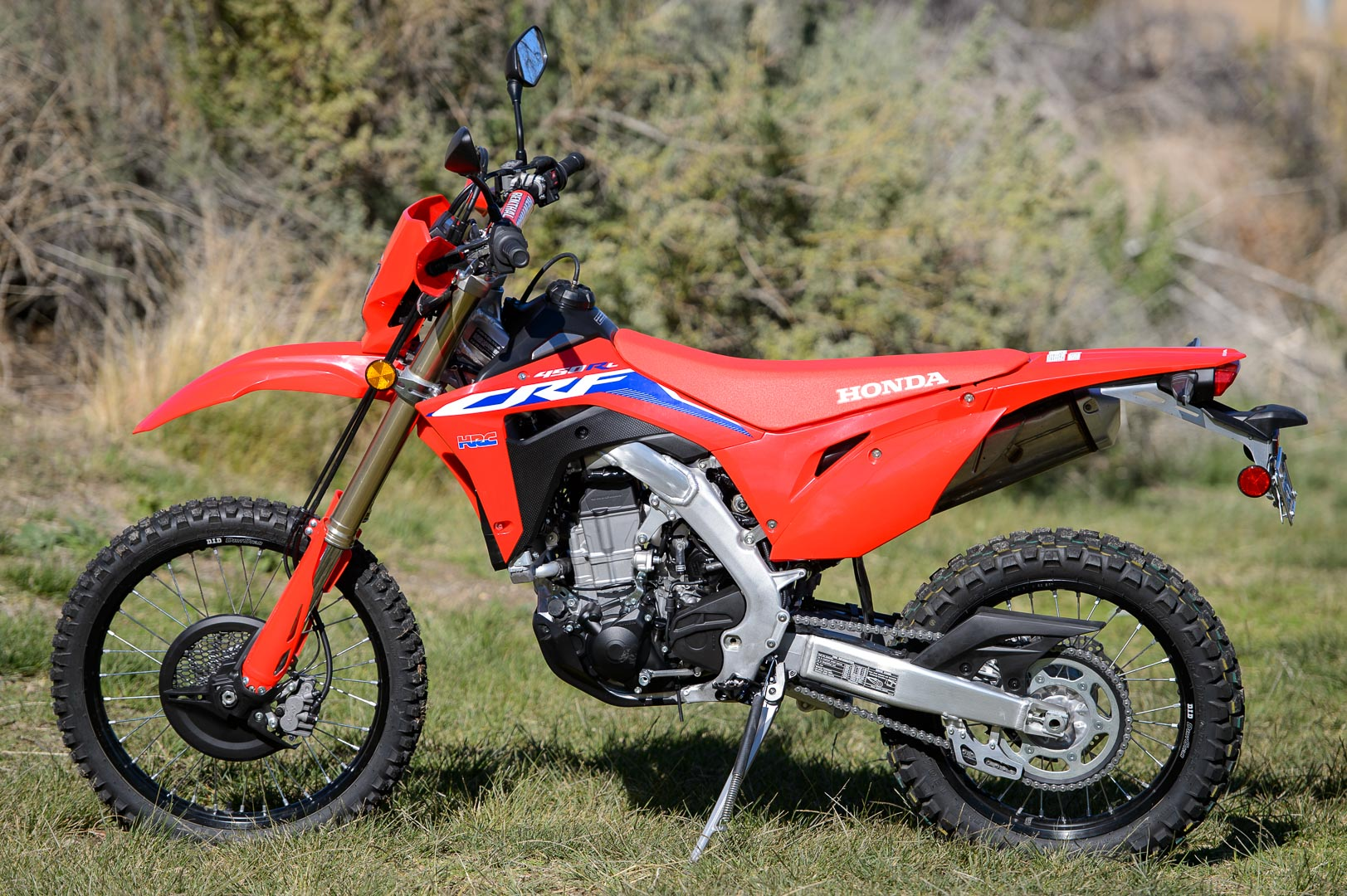 2021 Honda CRF450RL Review: Dual-Sport Motorcycle Test
