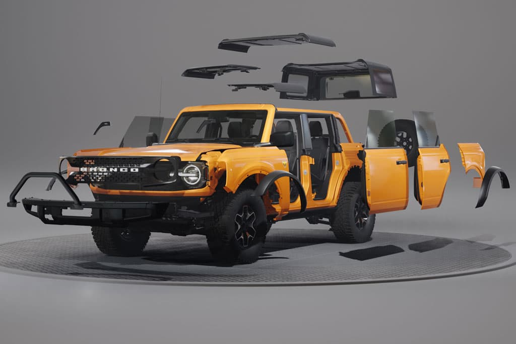 Move over Transformers: Ford Bronco can be whatever you want