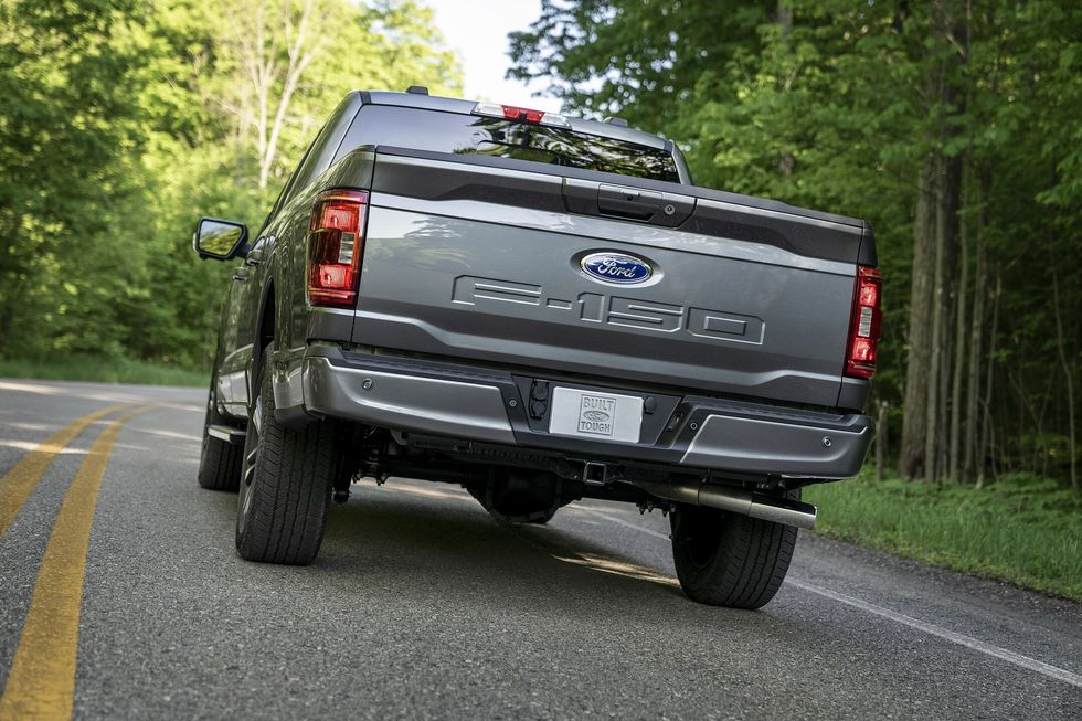 Some Owners Say Their New 2021 Ford F-150 Pickups Are Rusting Underneath