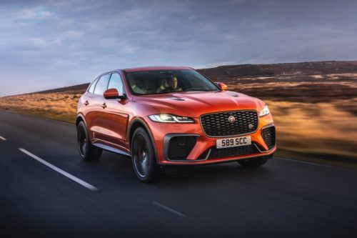2021 Jaguar F-Pace SVR Is New, Fast, and Doomed